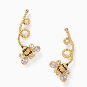 NEW Kate Spade Picnic Perfect Bee Ear Pins Earring